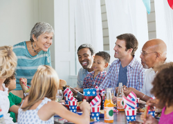 Dazzle guests with a July 4th Feast