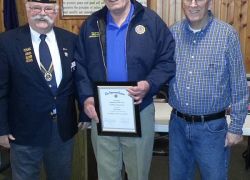 Schrier named 5th District Legionnaire of the year