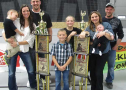 Dirt bike rider earns second place