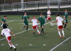 Dual win for Cedar Springs varsity boys soccer