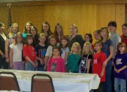 American Legion Auxiliary Juniors host event