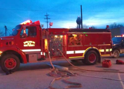 Sand Lake business catches fire