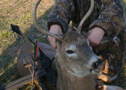 11-year-old gets first buck