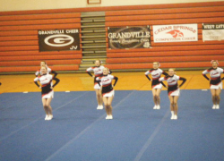 Cheer team take first and second place finishes