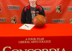 Karger signs to play college basketball