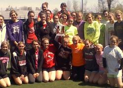Girls track defeats Coopersville, wins Warrior Invitational