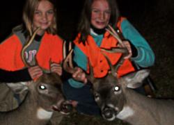 Sisters score bucks in youth hunt