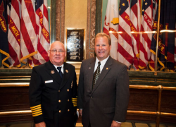 Courtland fire chief invited to 9/11 ceremony