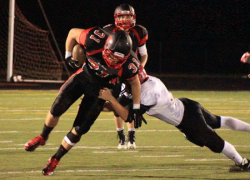 Red Hawks fall to playoff-bound Wildcats