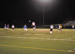 Soccer team ends season at districts