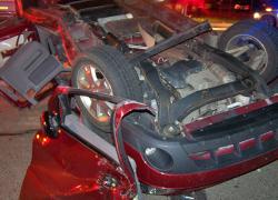 Two die in Howard City crash