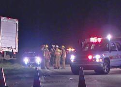 Teen killed in early morning crash