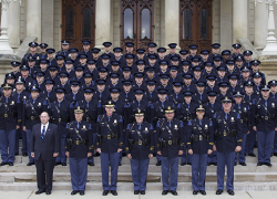 Sixty-five recruits become State Troopers