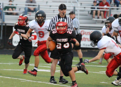 JV Red Hawks conquer Wildcats