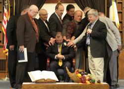 Associate pastor achieves ordination