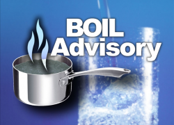 Boil water advisory has been lifted