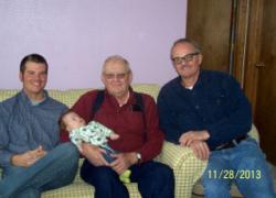 Celebrating 4 Generations of Gebhardts