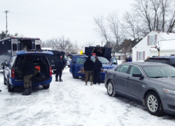 Three arrested for operating meth lab