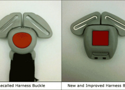 Car seat and booster seat recall