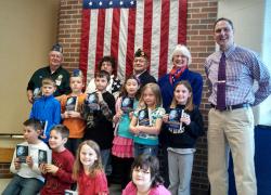 Glen Hill Post 287 family helps Beach Elementary
