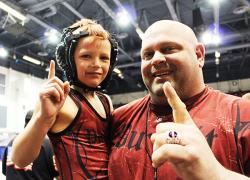 Wrestler ends season as 2014 State Champion