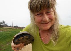 First Turtle-selfie