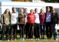 Girls Cross Country Team Finishes 7th at State Championship Finals