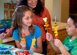 Tips for families to get healthy this new year