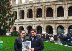 The Post travels to Italy