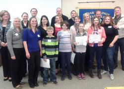 Rotary Club honors 5th grade essay winners