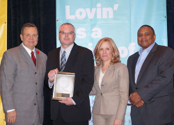 Cedar Springs McDonald's manager receives award