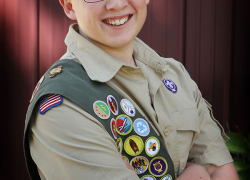 Kent Theatre benefits from Eagle Scout project
