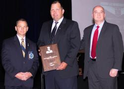 Trooper receives Cormier award