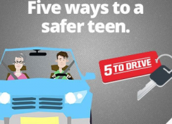 5 to Drive campaign helps parents protect teen drivers