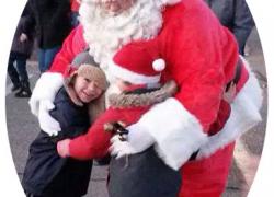 Tree lighting with Santa this Saturday