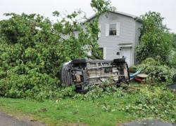 Six tornadoes hit West Michigan