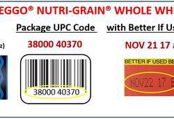 Eggo Nutri-grain waffles recalled