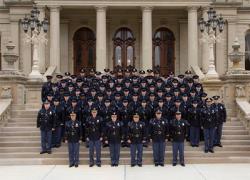 130th Trooper recruit school graduates