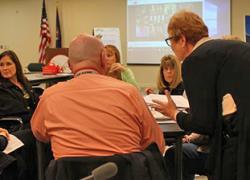 The District School Improvement Team (DSIT) meeting – Nov. 10