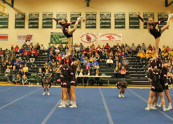 Cheer competition begins with wins