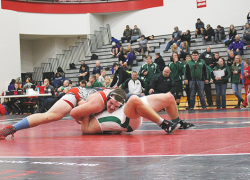Red Hawk wrestler take second place at Allendale