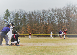 Red Hawks capture two wins in doubleheader