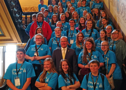 Chargers Join Charter Day at The Capitol