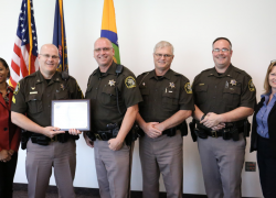 Sheriff's Office receives national traffic safety recognition