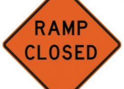 Southbound off ramp to close for two weeks