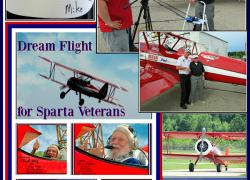 Veterans soar with Dream Flight