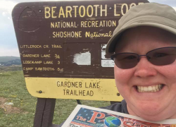 Post travels the Beartooth Highway