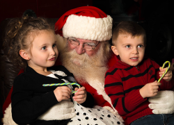Mingle with Kris Kringle this weekend