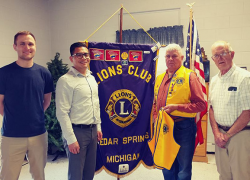 The Cedar Springs Lions Club