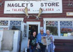 The Post travels to Alaska